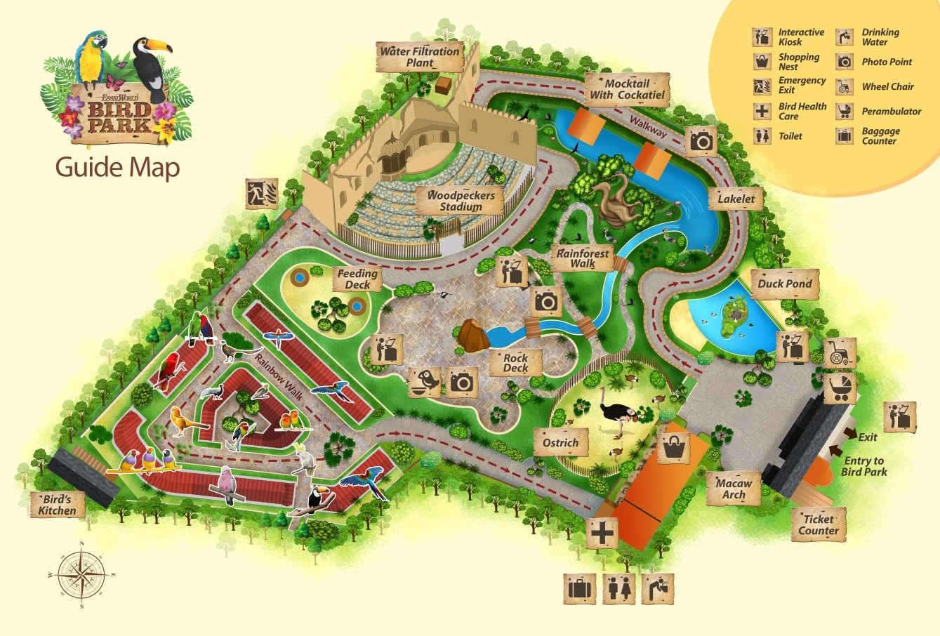 Map esselworld bird park gumiabroncs Choice Image